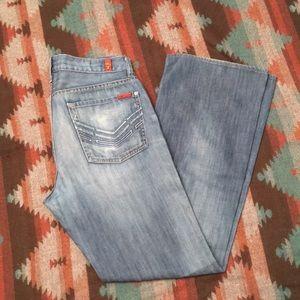 7FAM Bootcut Jeans- Size 31